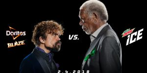 Peter Dinklage i Morgan Freeman w reklamie na Super Bowl