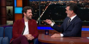 John Krasinski The Late Show