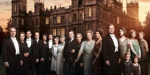 Downton Abbey zamek