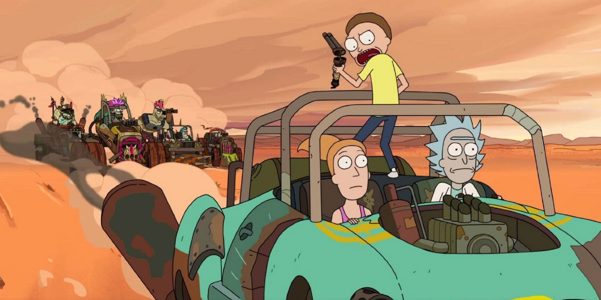 """""""Rick i Morty"""" (Fot. Adult Swim)"""