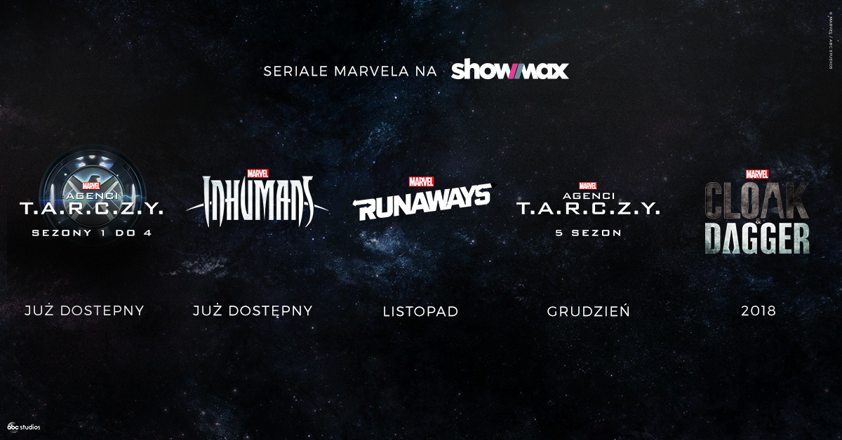 Marvel w Showmax