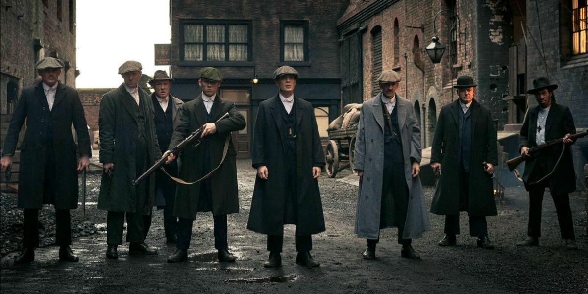 """""""Peaky Blinders"""" (Fot. BBC)"""