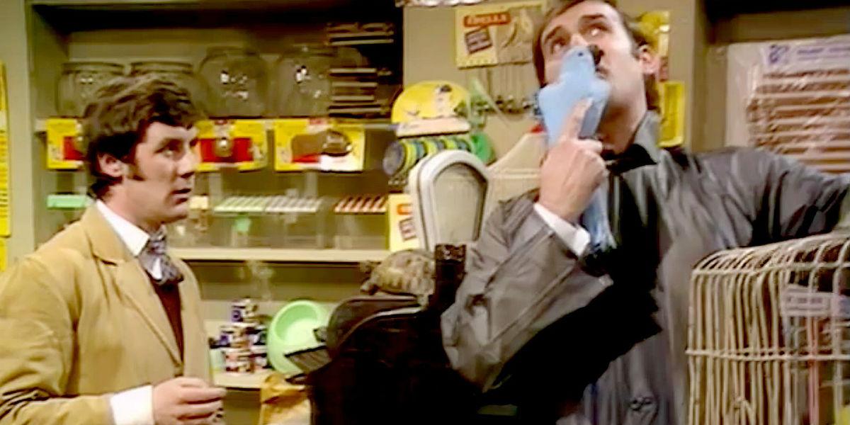 """""""Latający cyrk Monty Pythona"""" (Fot. BBC)"""