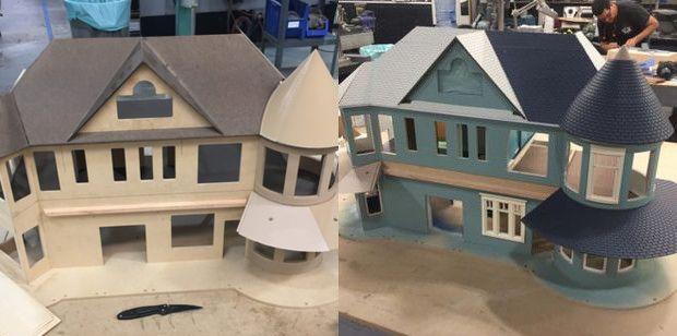 Domek dla lalek Ostre przedmioty