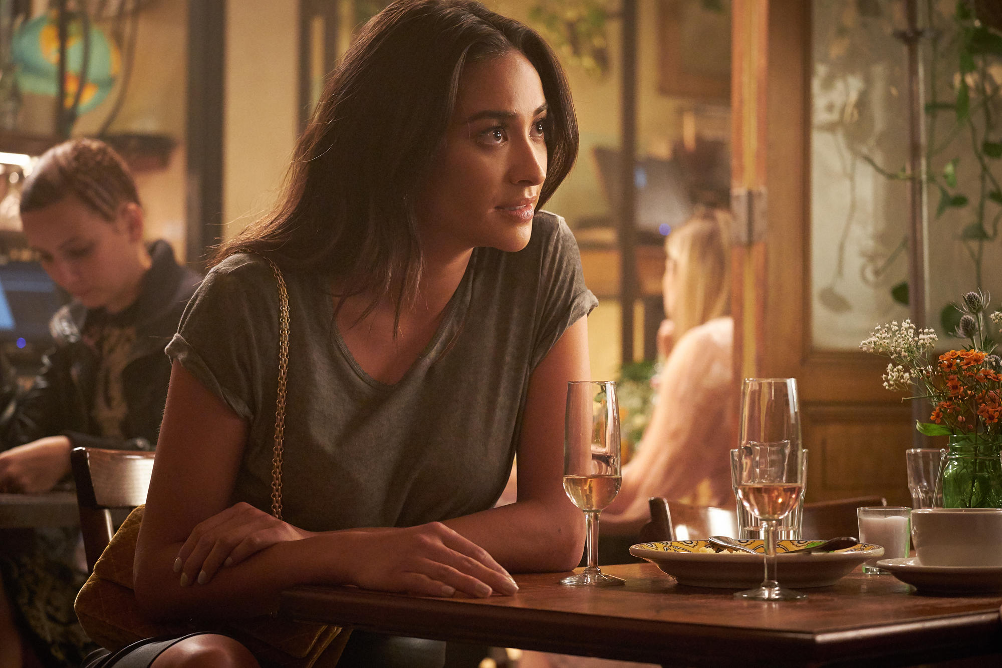 "SEPTEMBER 7, 2018:  Shay Mitchell, ""You"" - photo: Lifetime"