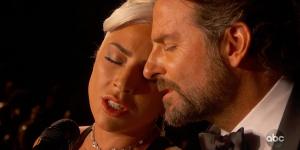 Lady Gaga i Bradley Cooper Shallow Oscary