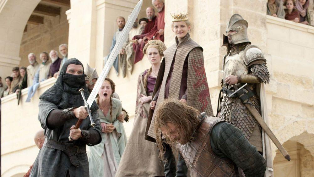 Gra o tron Sean Bean scena śmierci Neda