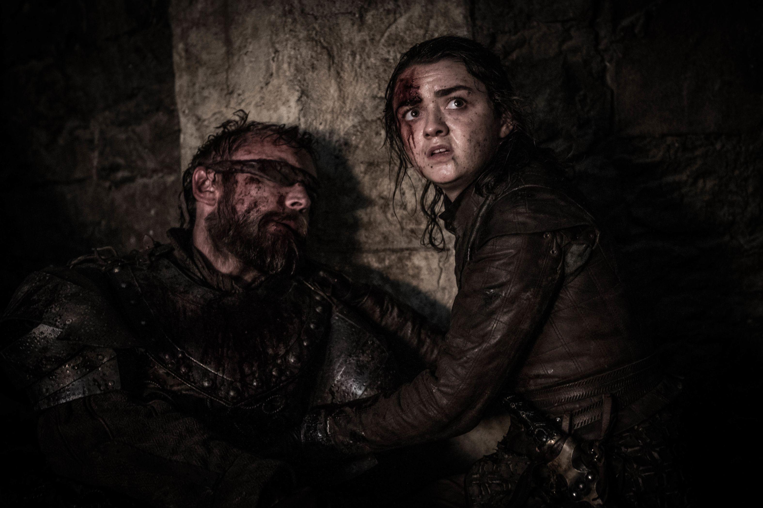 Gra o tron Arya zabija Nocnego Króla