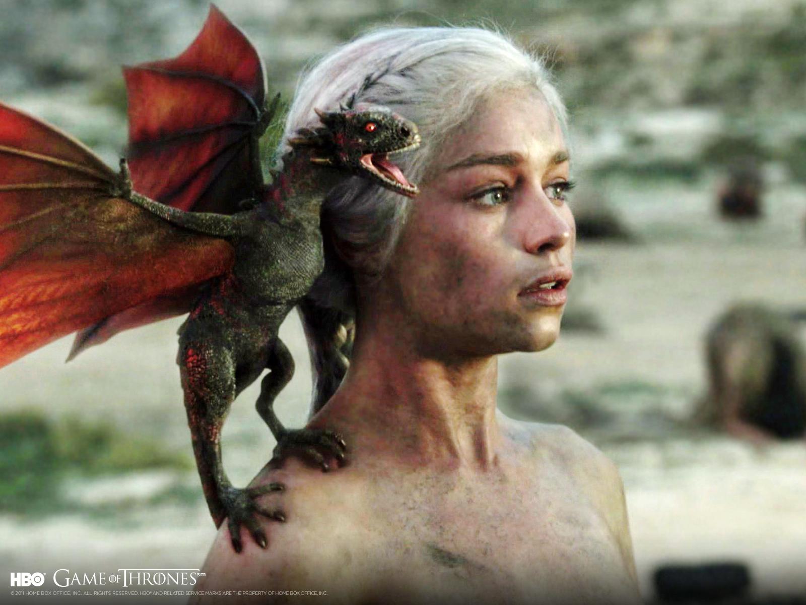 Gra o tron Daenerys smok