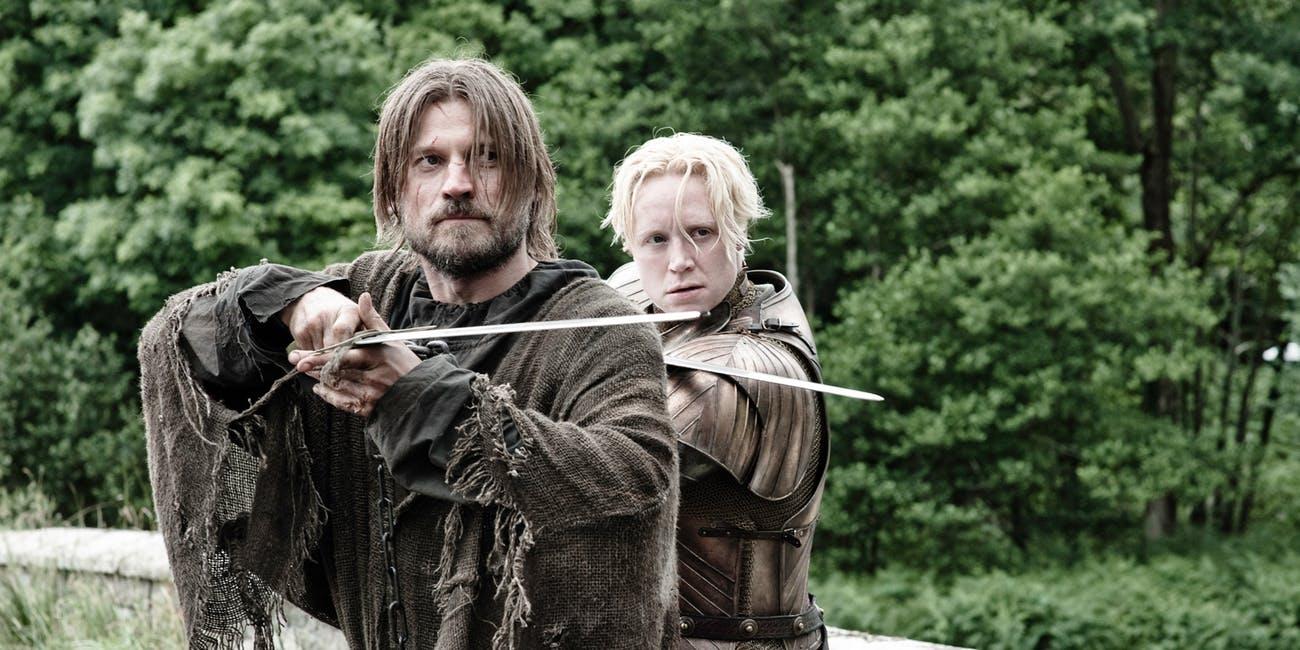 Gra o tron Jaime Brienne