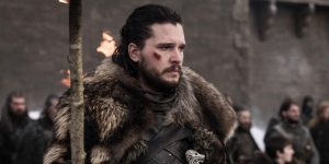 Kit Harington gra o tron