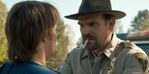 stranger things david harbour porażka serialu
