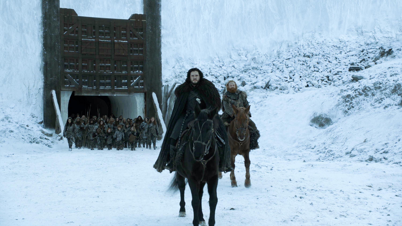 Gra o tron Jon Snow ostatnia scena