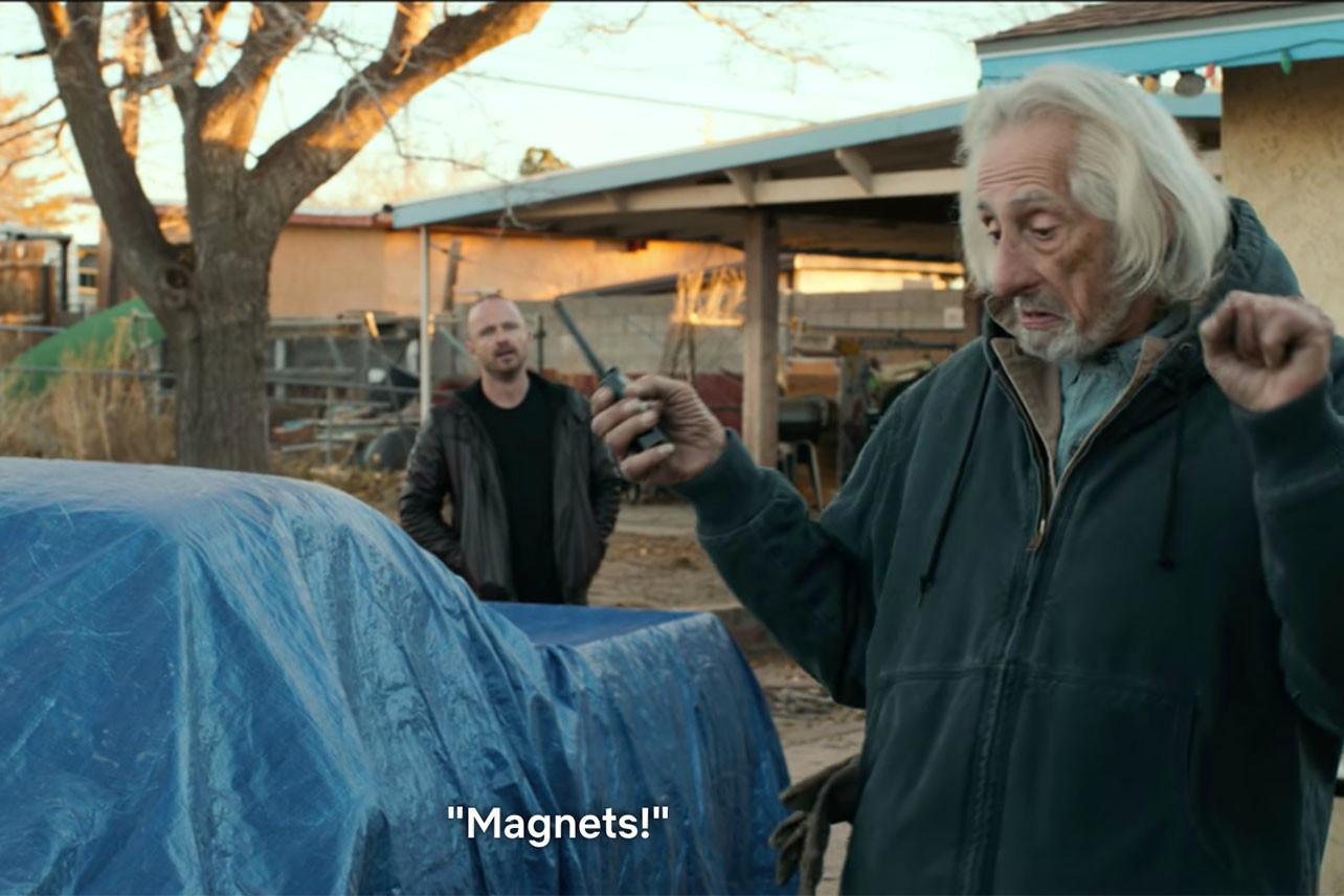 El Camino Breaking Bad Stary Joe Magnets