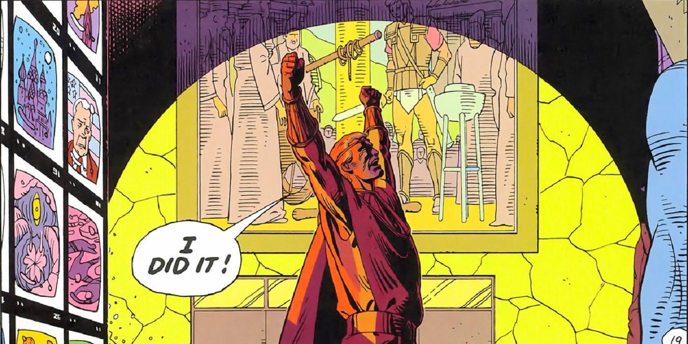 Watchmen Ozymandiasz