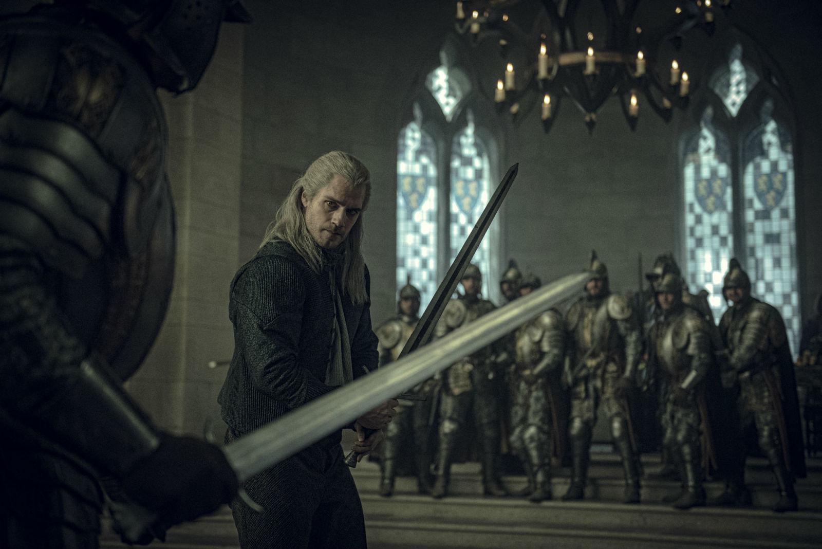Wiedźmin serial Geralt