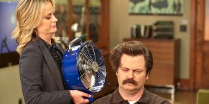 amy poehler nick offerman the office czołówka
