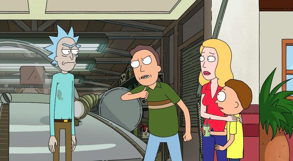 Rick i Morty sezon 4 odcinek 1