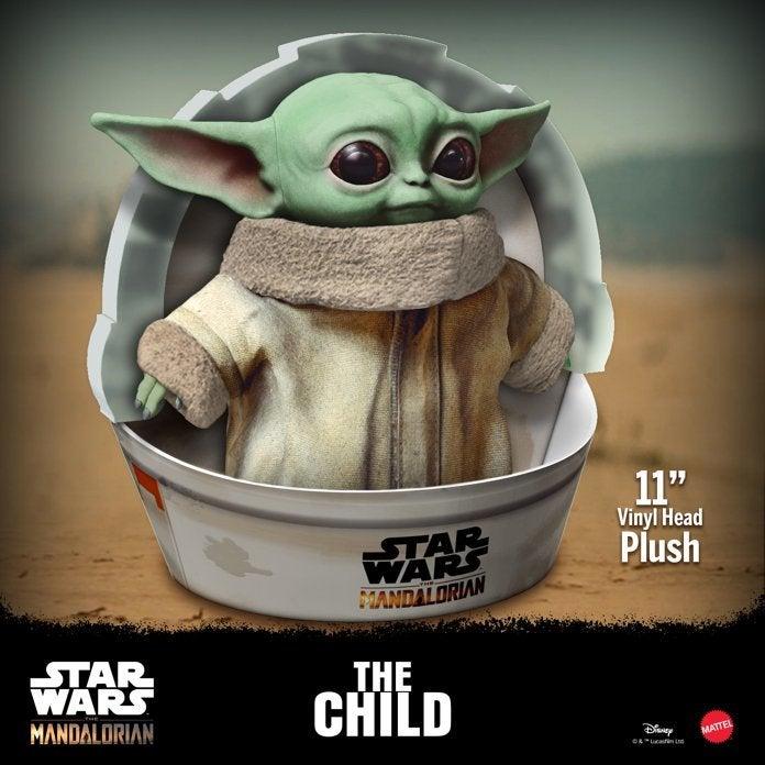 Baby Yoda zabawka