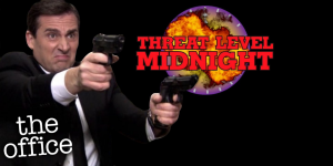 the office threat level midnight film
