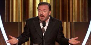 Złote Globy 2020 Ricky Gervais