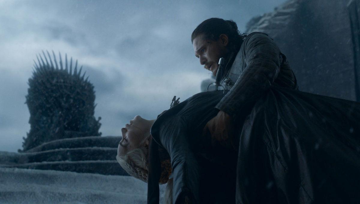 gra o tron finał emila clarke jon snow