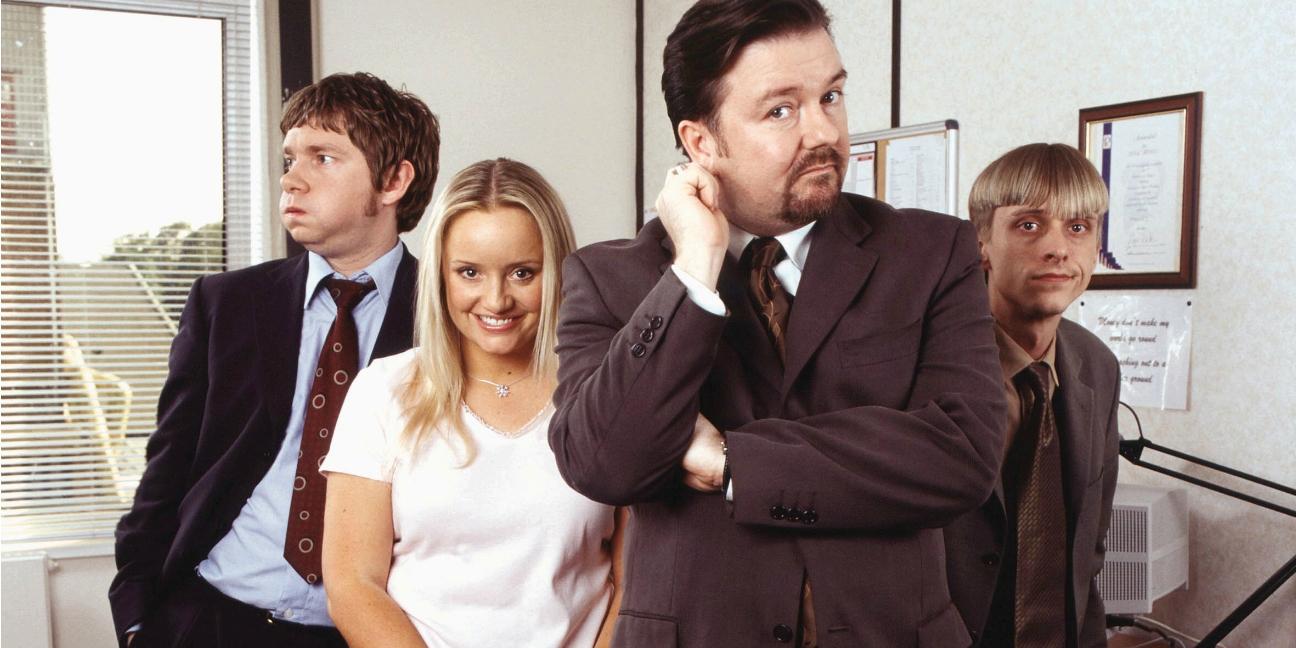 The Office brytyjskie najlepsze seriale