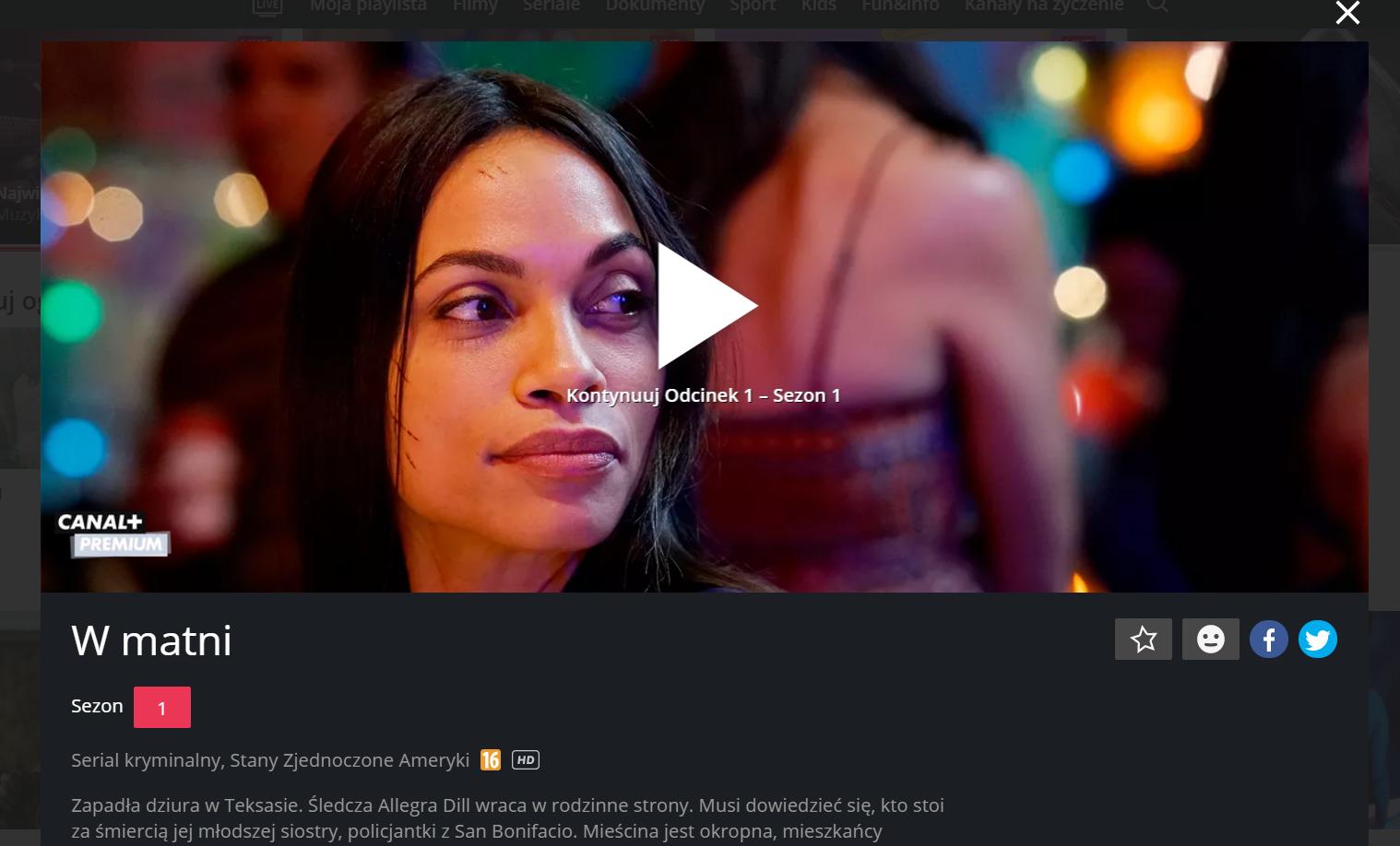 Canal+ VoD oferta cennik