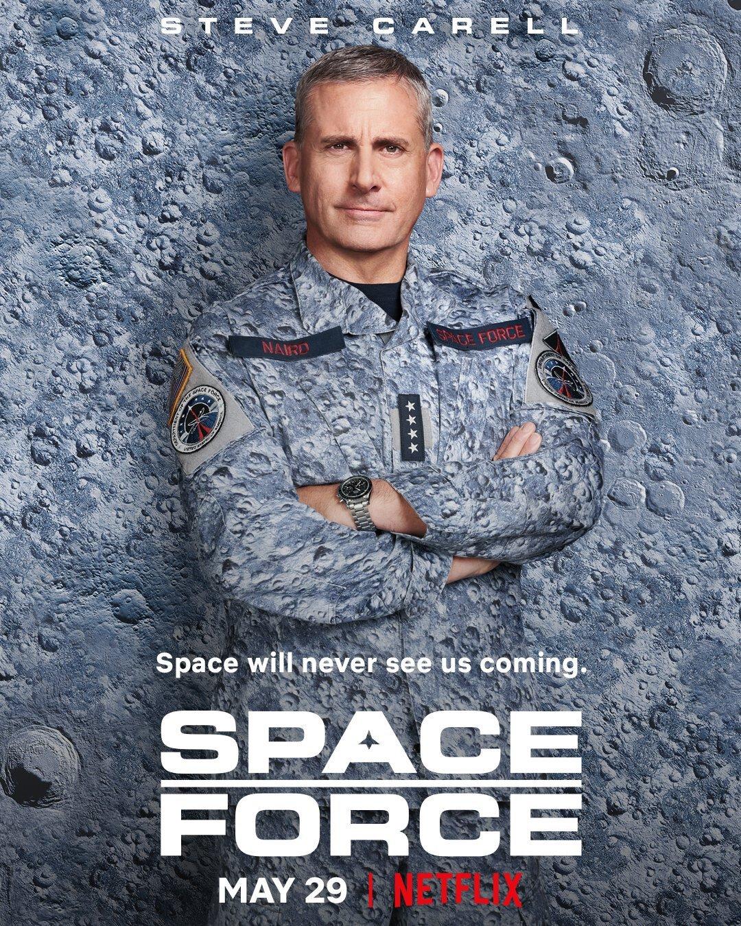 Siły Kosmiczne serial plakat