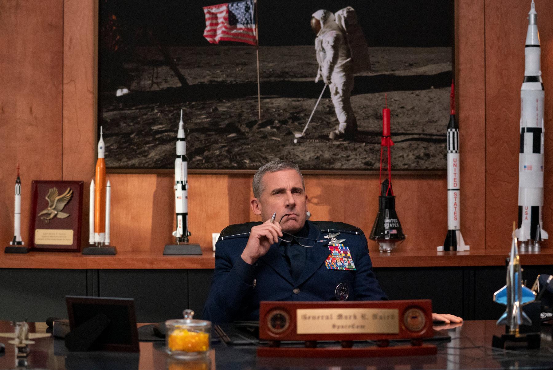 Siły kosmiczne Steve Carell