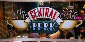 Przyjaciele kawa central perk