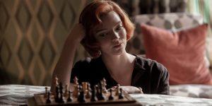 Anya Taylor-Joy gambit królowej