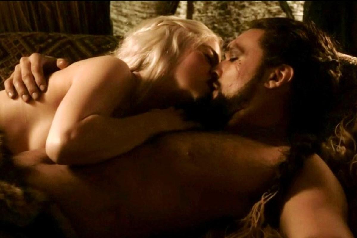 gra o tron sceny seksu daenerys khal drogo