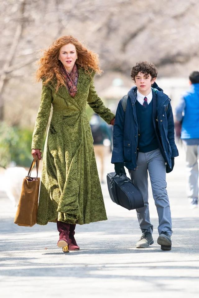 Od nowa Nicole Kidman płaszcz