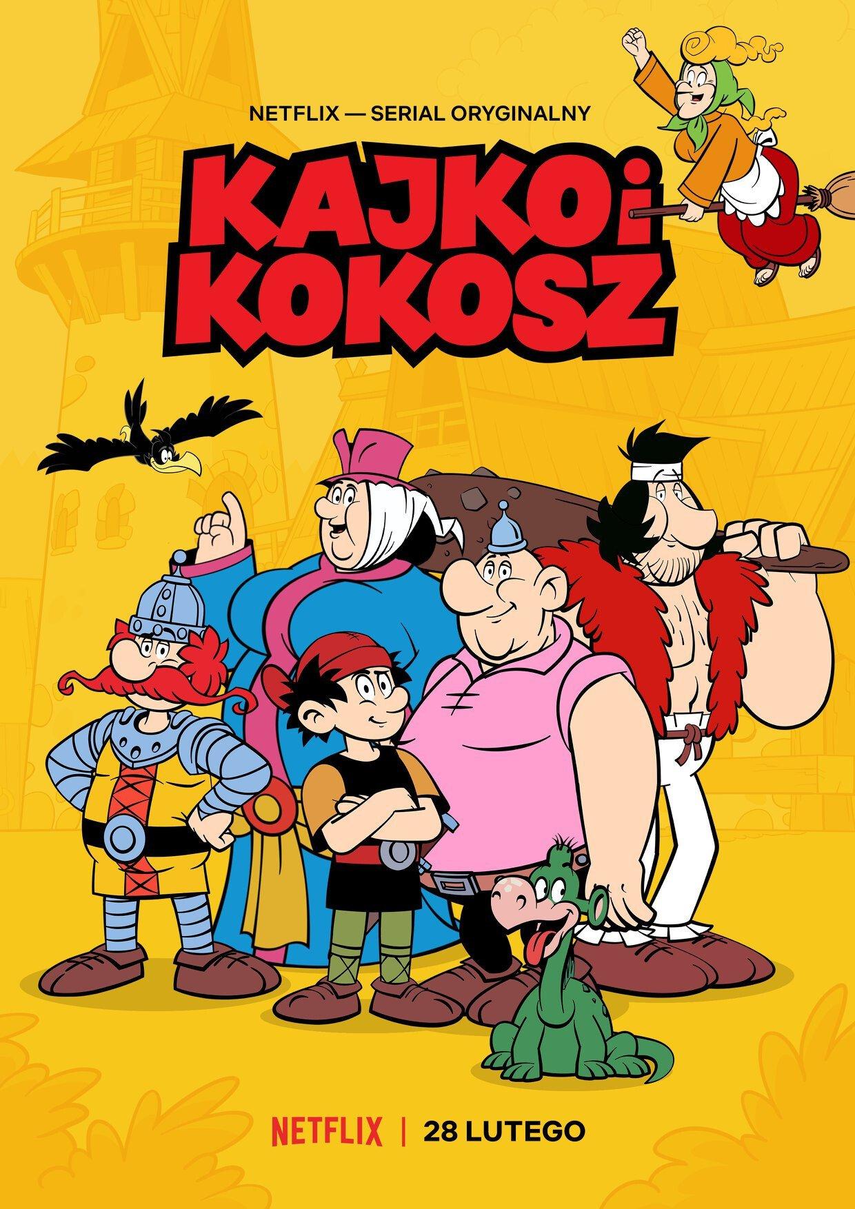 Kajko i Kokosz serial