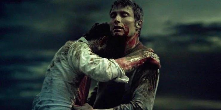 Hannibal Will pocałunek finał
