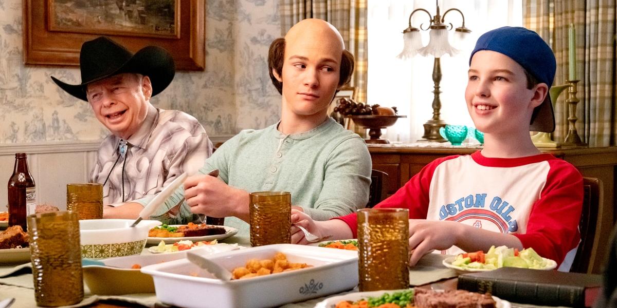 Młody Sheldon tata śmierć