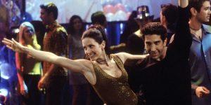 przyjaciele courteney cox wideo taniec