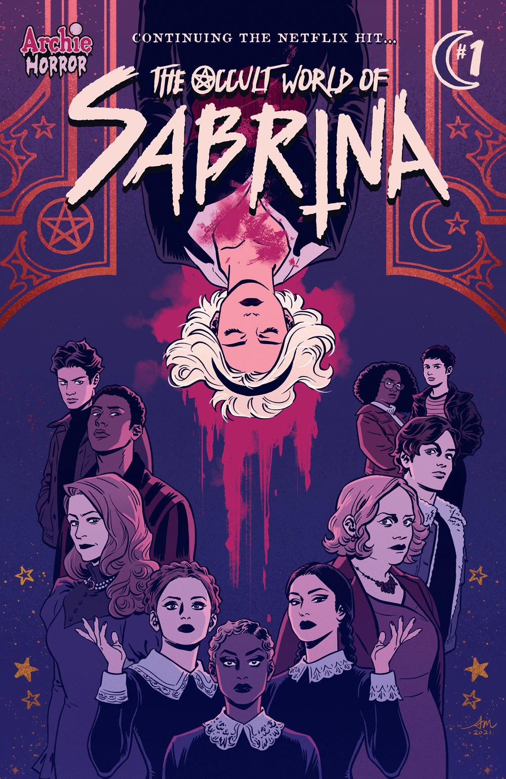 sabrina komiksy occult world