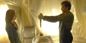 Dexter Michael C. Hall noże