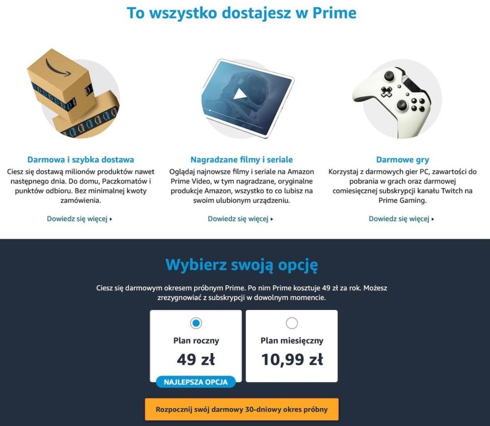 amazon prime video polska oferta seriale